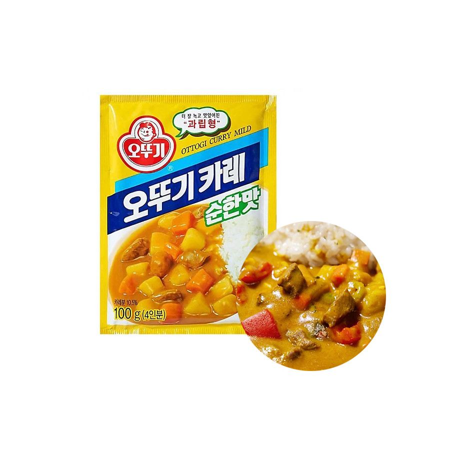 OTTOGI OTTOGI 오뚜기 카레가루 순한맛 100g 1