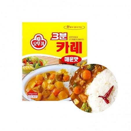 OTTOGI OTTOGI OTTOGI 3 Minuten Curry hot 200g 1
