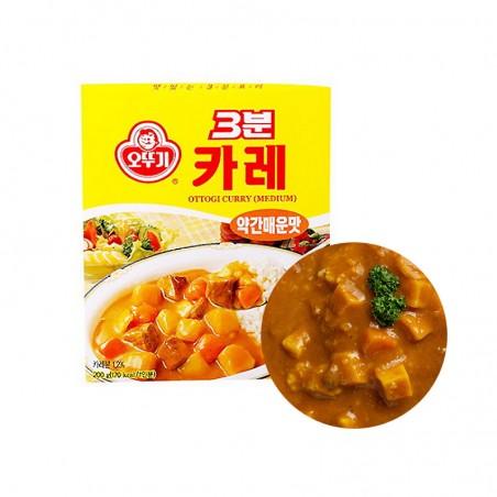 OTTOGI OTTOGI OTTOGI 3 Minuten Curry medium 200g 1