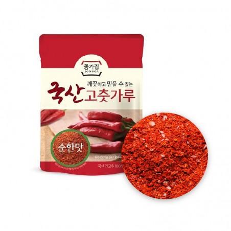 Our Home  Jongga paprikapaste pulver mild 200g(MHD : 13/08/2021) 1