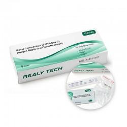 Novel Coronavirus (SARS-Cov-2) /Antigen Rapid Test Cassette (swab) x 5 pieces 1