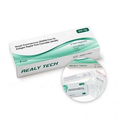Novel Coronavirus (SARS-Cov-2) /Antigen Rapid Test Cassette (swab) x 5 Stücke 1