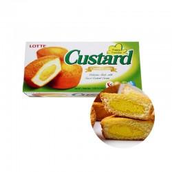 LOTTE LOTTE Lotte Custard Cake 23g x 6 1