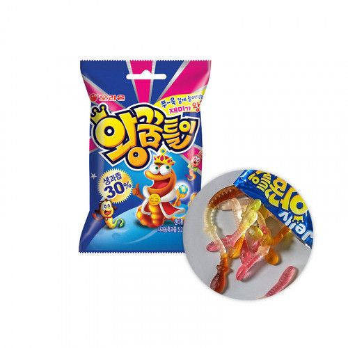 ORION ORION Snack Orion King Gummy Worms (67g ) 1