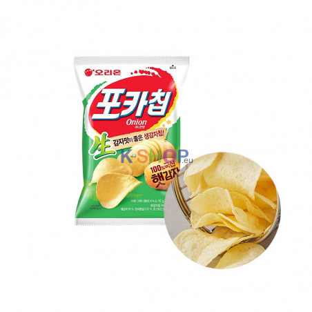 ORION ORION ORION Pocka Chips Onion 66g (MHD:03/09/2021) 1