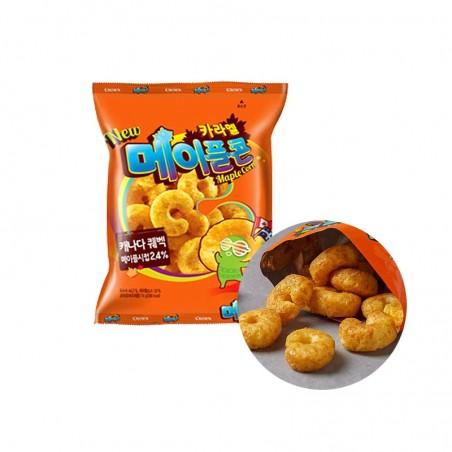 CROWN CROWN CROWN Snack Caramel Corn Maple 74g (MHD:23/09/2021) 1