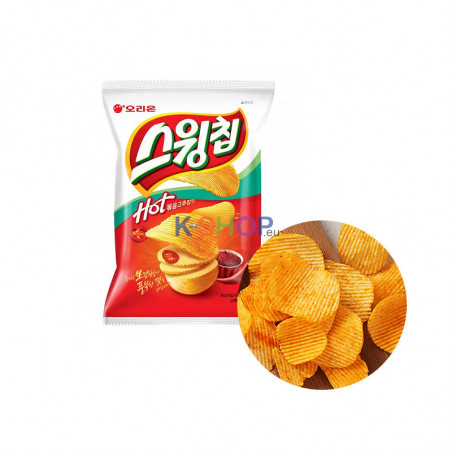 ORION ORION ORION Swing Chips Red Pepper Paste Flavor 60g  (MHD:03/09/2021) 1