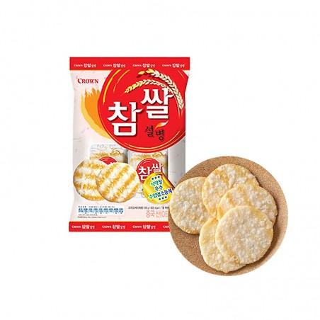 CROWN CROWN CROWN Rice Cracker sweet 128g (MHD: 19/11/2021) 1