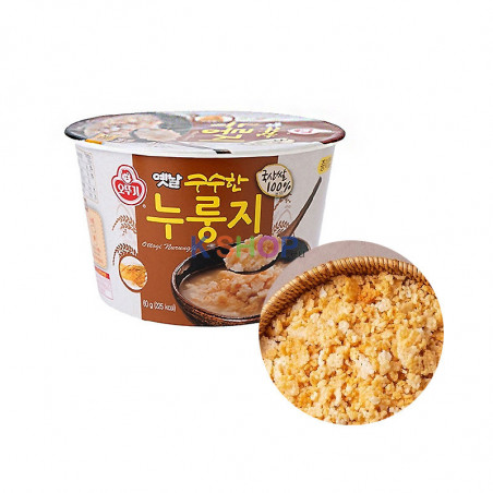 OTTOGI OTTOGI Korean Scorched Rice Nurungji in Cup 60g(BBD : 17/02/2022) 1