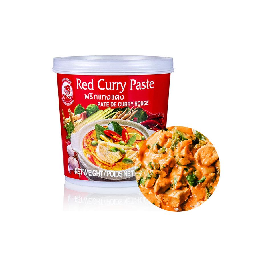 COCK COCK COCK Rote Curry Paste 400g 1