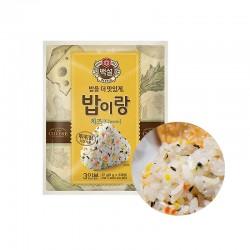 CJ BEKSUL CJ 백설 밥이랑 치즈 27g (유통기한: 14/10/2021) 1