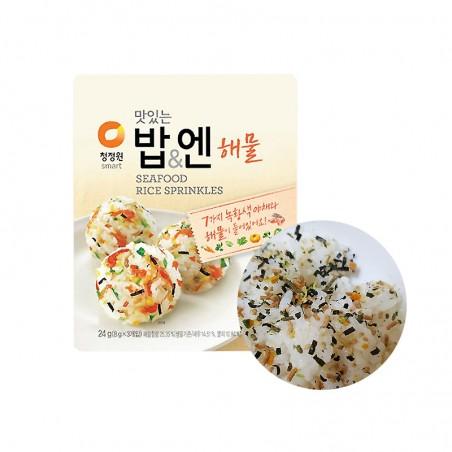 CHUNGJUNGONE CHUNGJUNGONE Furikake Seafood (8g x 3) 24g(BBD : 16/09/2021) 1