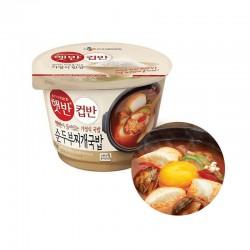 CJ HETBAN  씨제이 햇반컵반 순두부찌개국밥  173g 1
