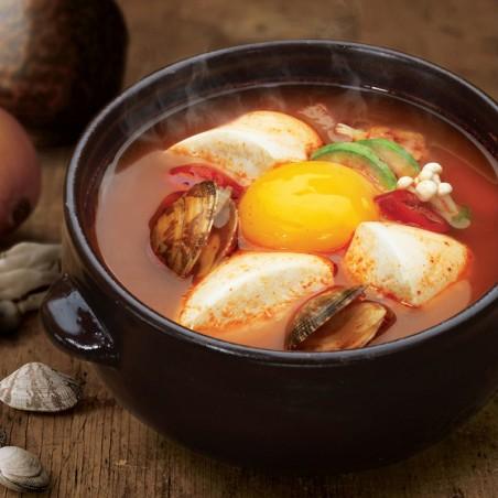 CJ HETBAN  CJ HETBAN Reis Cup mit Tofu Suppe  173g 1