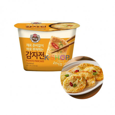 CJ HETBAN CJ BEKSUL CJ백설 쿠킷 컵전 감자전 120g(유통기한: 07/08/2021)* 1