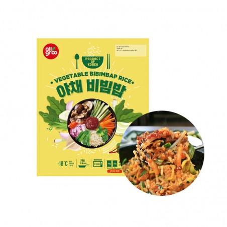 CJ HETBAN  (냉동)올그루 야채 비빔밥 (210g x 2) 1