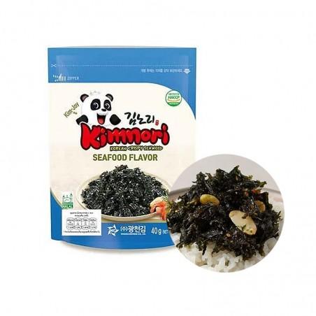 KWANGCHEON KWANGCHEON crispy Seaweed Seafood flavor 40g 1
