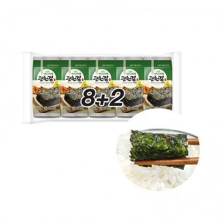 KWANGCHEON KWANGCHEON seasoned Seaweed Vegetable 5g x 10 1