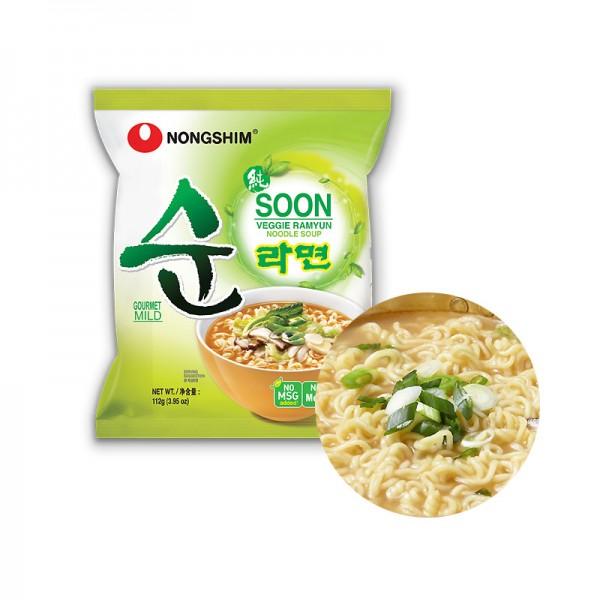 NONG SHIM NONG SHIM NONGSHIM Instant Nudeln Soon Veggie 112g 1