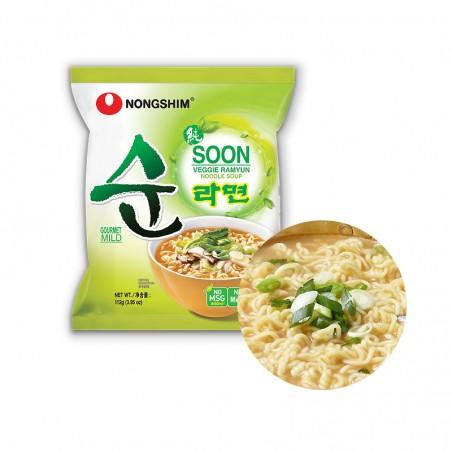 NONG SHIM NONG SHIM NONGSHIM Instant Noodle Soon Veggie 112g 1