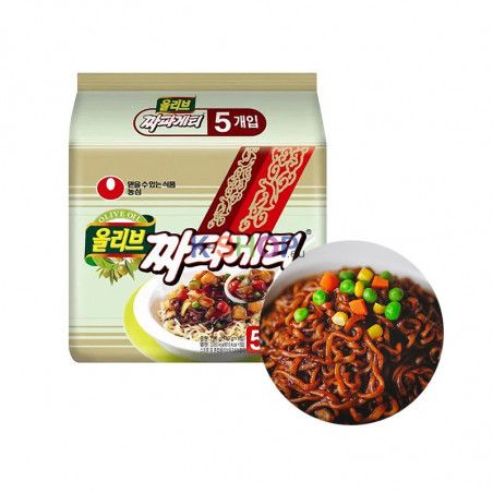 NONG SHIM NONG SHIM NONGSHIM Instant Nudeln Chapagetti Multi(140gx5)(MHD:24/07/2021) 1