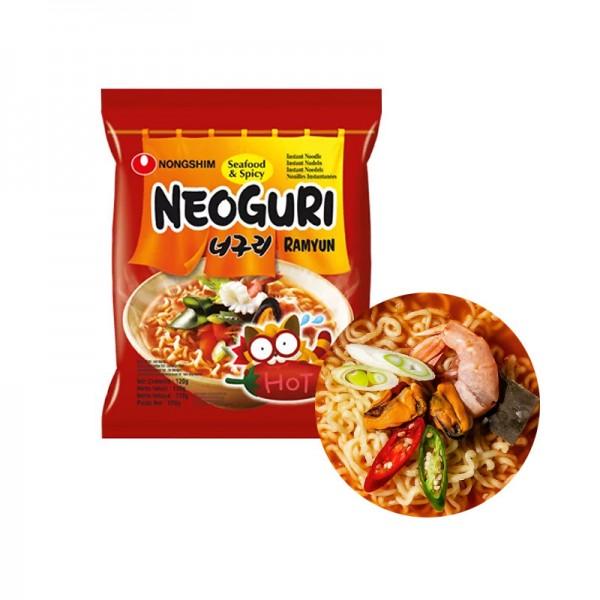 NONG SHIM NONG SHIM NONGSHIM Instant Nudeln Neoguri Meeresfrüchte scharf 120g 1