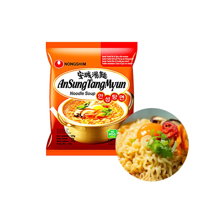 NONG SHIM NONG SHIM NONGSHIM Instant Noodle AnSungTangMyun 125g 1