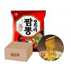 NONG SHIM NONG SHIM NONGSHIM Instant Nudeln Champong 124gx20(BOX) 1