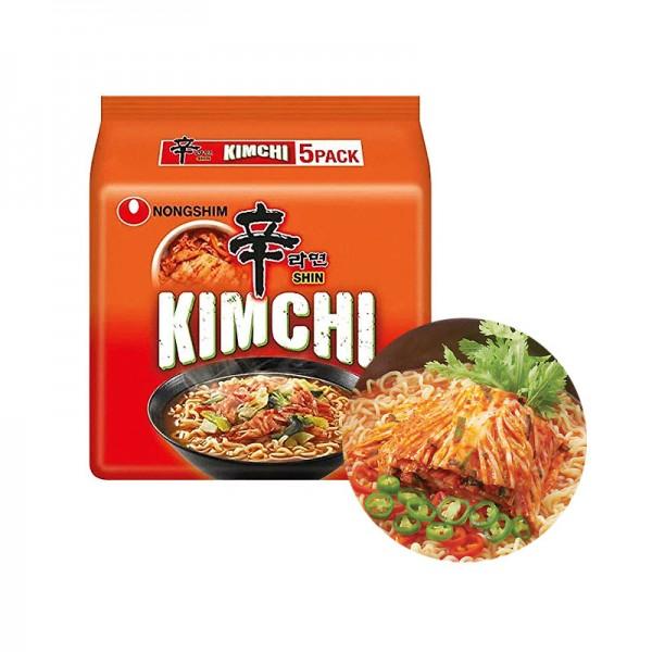 NONG SHIM NONG SHIM NONGSHIM Instant Nudeln Kimchi Multipack (120g x 5) 1