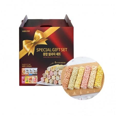 MAMMOS MAMMOS 맘모스 종합 쌀과자 세트 (70g x 8 ) 1