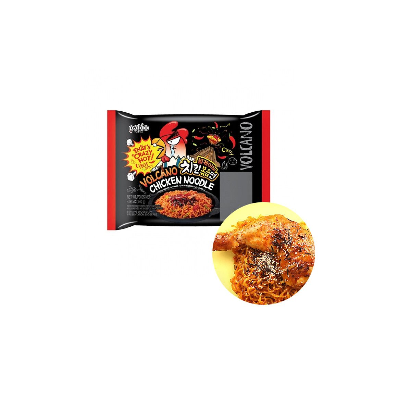 PALDO  PALDO Instant Nudeln Volcano Chicken 140g(MHD:19/12/2021) 1