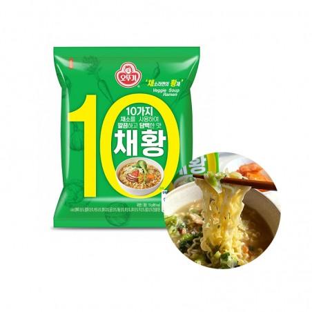 OTTOGI OTTOGI OTTOGI Instant Noodle Vegetarisch 110g(MHD: 13/01/2022) 1