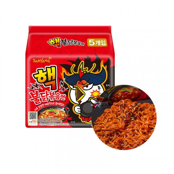 SAMYANG  SAMYANG Ramen Hot Chicken Extrem Multi-Pack (140g x 5) 1
