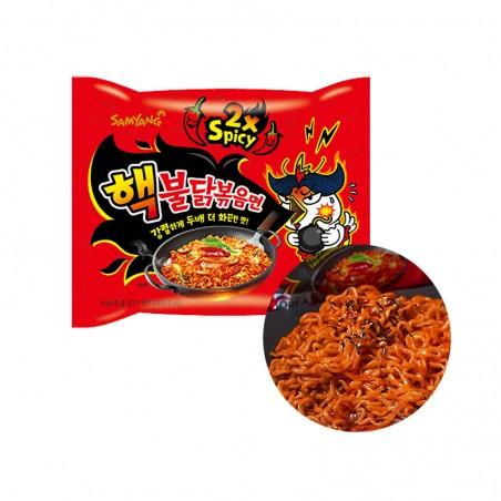 SAMYANG  SAMYANG Instant Nudeln Hot Chicken Extrem 140g 1