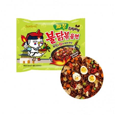 SAMYANG  SAMYANG Instant Noodle Hot Chicken Jjajang 140g 1