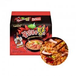 SAMYANG  SAMYANG Instant Nudeln Hot Chicken Stew Mulit-Pack (145gx 5) 1