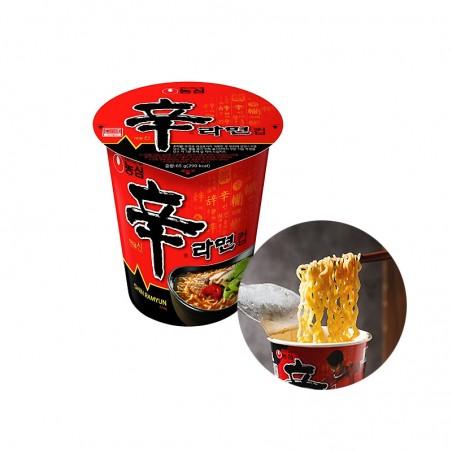 NONG SHIM NONG SHIM NONGSHIM Cup Nudeln Shin Ramen 68g 1