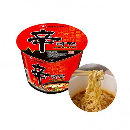 NONG SHIM NONG SHIM NONGSHIM Cup Noodles Shin Big Bowl 114g 1