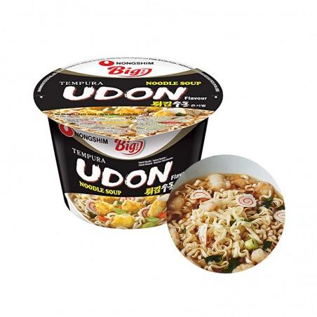 NONG SHIM NONG SHIM NONGSHIM Cup Nudeln Tempura Udon Big Bowl 111g 1