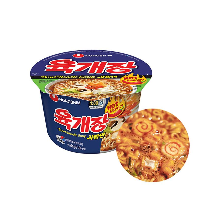 NONG SHIM NONGSHIM Cup Ramen Yukejang (hot & spicy)  100g 1