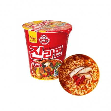 OTTOGI OTTOGI OTTOGI Cup Noodle Jin Ramen hot 65g 1