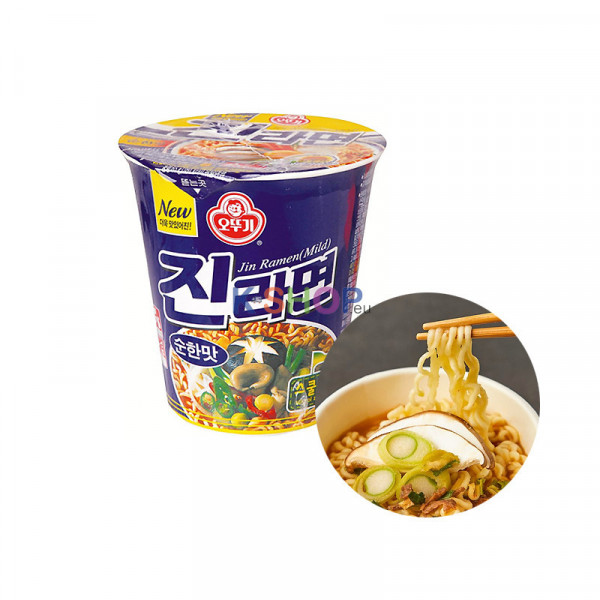 OTTOGI OTTOGI 오뚜기 진라면 컵 순한맛 65g (유통기한: 11/03/2022) 1