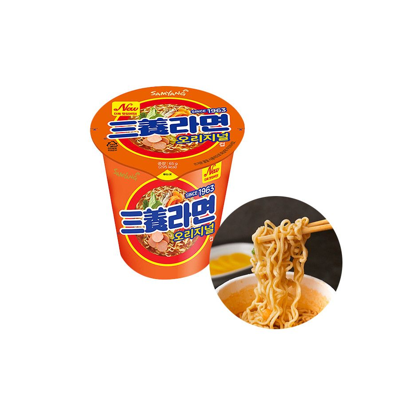SAMYANG  SAMYANG Cup Noodle Samyang Ramen 65g 1