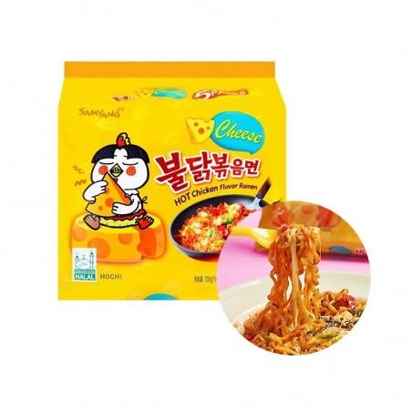 SAMYANG  SAMYANG Hot Chicken Ramen(CHEESE)Multipack (140g x 5) 1