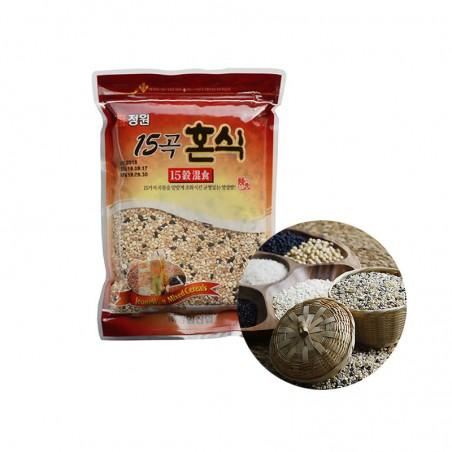 JONGWON NONGHYUP NONGHYUP Gemischtes Getreide mit 15 Sorten 800g 1