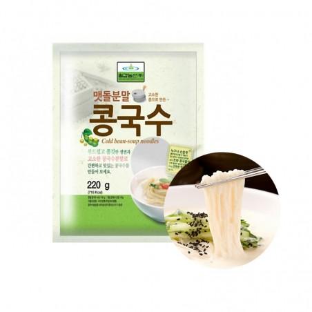 CHILGAB CHILGAB (FR) CHILGAB Fresh Noodle with Soybean Powder(Kong guksu) 220g(BBD : 17/01/2022) 1