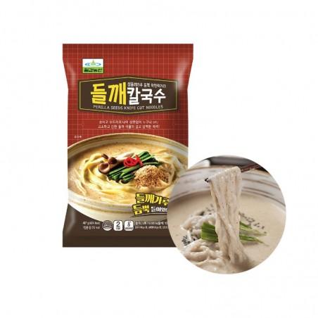CHILGAB (FR) CHILGAB Fresh Chopped Noodle with Perilla Seed Powder 407g 1
