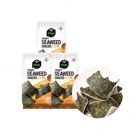 CJ BIBIGO CJ BIBIGO CJ BIBIGO Seaweed Rice Chips Seamöl 15g 1