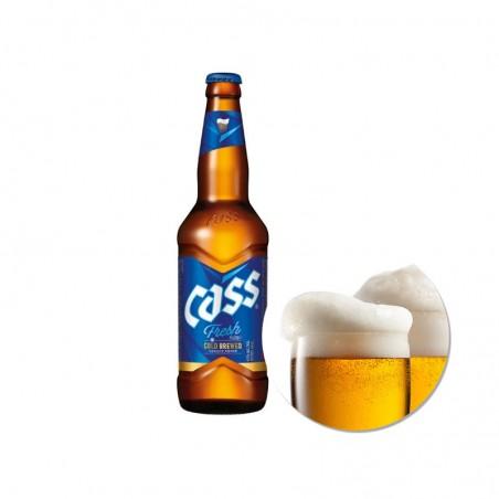 SINGHA  CASS FRESH Beer (4.5% Alc.) 500ml 1