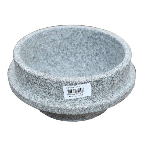 ASSI  Korean stone Pot Ttukbaegi 20cm 1